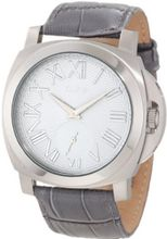 a_line 80007-014-GR Pyar Grey Textured Dial Grey Leather