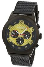 Aatos Automatic Black Plated Stainless Steel Carbon Fiber Face Gold Dial WedusBBG