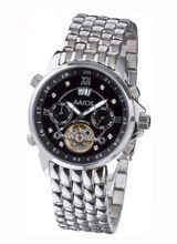 Aatos Automatic Diamonds Stainless Steel Black Dial JaakkoSSBD