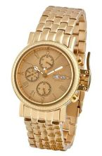 Aatos Automatic Diamonds Stainless Steel Gold Dial DiegoGGGD