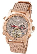 Aatos Automatic Rose Gold Plated Stainless Steel Carbon Fiber Face Rose Dial AigosRgRgRg