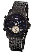 Aatos Automatic Sapphires Black Stainless Steel Black Dial JaakkoBBBS