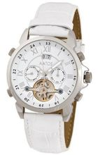 Aatos Automatic White Leather Band White Dial JaakkoLSWw