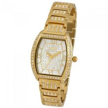 Aatos Quartz Swarovski Stones Gold Plated Brass Unisex JuliusG
