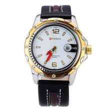 Absolute Chronometer |  Sports with Number Scale/Round Dial/Calendar Date-(GOLD)
