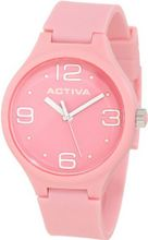 Activa By Invicta AA101-002 Pink Dial Pink Polyurethane