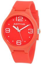 Activa By Invicta AA101-007 Red Dial Red Polyurethane