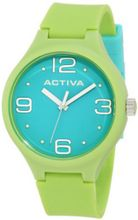 Activa By Invicta AA101-014 Aqua Dial Lime Green Polyurethane