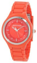 Activa By Invicta AA201-007 Red Dial Red Plastic
