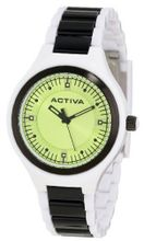 Activa By Invicta AA201-010 Green Dial White and Black Plastic