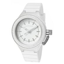 Activa By Invicta AA301-001 White Dial White Polyurethane