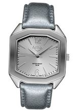 Activa SL261 Silver Dial Silver Leatherette