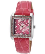 Pink Pearl Tone Dial Pink Leatherette