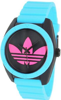 adidas Originals 'Santiago' Logo Dial , 42mm