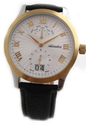 Adriatica Gents Leather 8139.2233Q