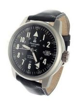 Aeromatic 1912 22-Jewel Automatic Aviator's A1027 Black
