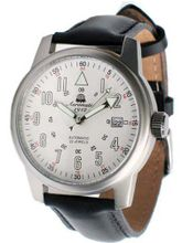 Aeromatic 1912 22-Jewel Automatic Aviator's A1027 White