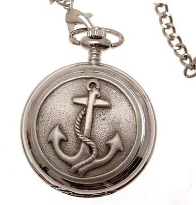 Anchor pocket pewter fronted quartz mechanism design 69