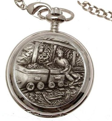 Miners pocket pewter fronted mechanical design 67
