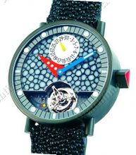 Alain Silberstein Special Editions / Other Galuchat Caviar Tourbillon