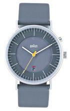 Braun Analog Wrist , Grey 38 mm
