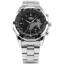 AMPM24  Automatic Mechanical Analog Date Display Stainless Sport Wrist PMW103