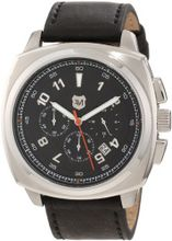 Andrew Marc A11002TP Heritage Bomber 3 Hand Chronograph