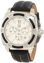 Andrew Marc A11005TP G III Bomber 3 Hand Chronograph