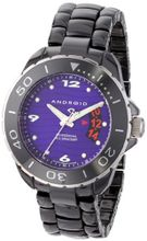 Android AD418AKPU Exotic Divemaster Quartz Ceramic Purple