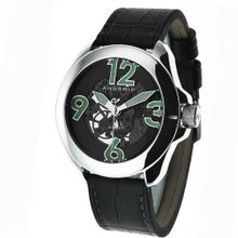 Android AD478AK Concept T 2 Skeleton Automatic Black Domed Crystal