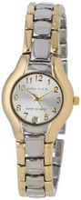 Anne Klein 10-6777SVTT Two-Tone Dress with an Easy to Read Dial