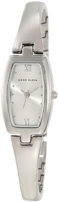 Anne Klein 106739SVSV Silver-Tone Bangle