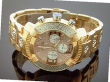 Aqua Master 45mm Round 20 Diamonds Rose Gold Case