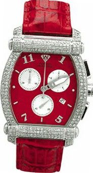 Aqua Master Unisex Half-Full Case Diamond , 2.50 ctw