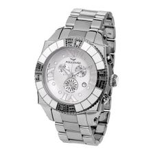 Aquasiss 62XGB004 Swissport Diamond Chronograph Stainless Steel Case and Stainless Steel Band