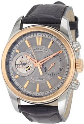 Armand Nicolet 8649A-GL-P964GR2 L07 Limited Edition Classic Two-Toned Hand Wind