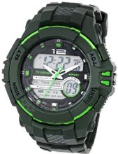 Armitron Sport 20/4942GRN Analog-Digital Green Resin Strap Chronograph