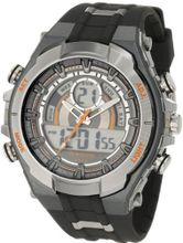 Armitron Sport 204589ORGY Analog-Digital Chronograph Gray and Black