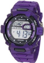 Armitron Sport 40/8278PUR Purple Resin Strap Chronograph