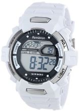 Armitron Sport 40/8278WHT Large White Resin Strap Digital Chronograph