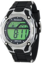 Armitron Sport 408125BLK Chronograph Black Strap Digital Display