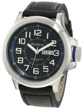 Armitron 20/4859BLSVBK Easy-to-Read Dial Blue Leather Strap