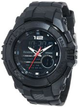 Armitron 20/4942BLK Chronograph Sport Large Black Resin Strap Digital