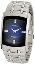 Armitron 204507DBSV Swarovski Crystal Accented Silver-Tone Blue Degrade Dial Dress
