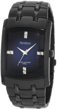 Armitron 204507DBTI Swarovski Crystal Accented Ion-Plated Black Stainless-Steel
