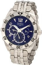 Armitron 204664BLSV Silver-Tone Stainless-Steel Multi-Function Blue Dial Sport