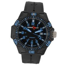Armourlite Blue Caliber Series Tritium Black NBR Band