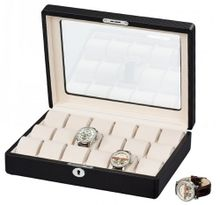Auer Accessories Alope 18W-KC Box for 18 es made of leather