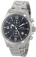 AVI-8 AV-4001-11 Hawker Harrier II Analog Japanese-Quartz Silver
