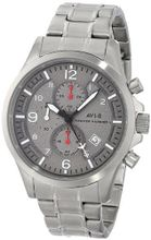 AVI-8 AV-4001-12 Hawker Harrier II Analog Japanese-Quartz Silver